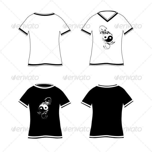 T-shirts design template - Commercial / Shopping Conceptual