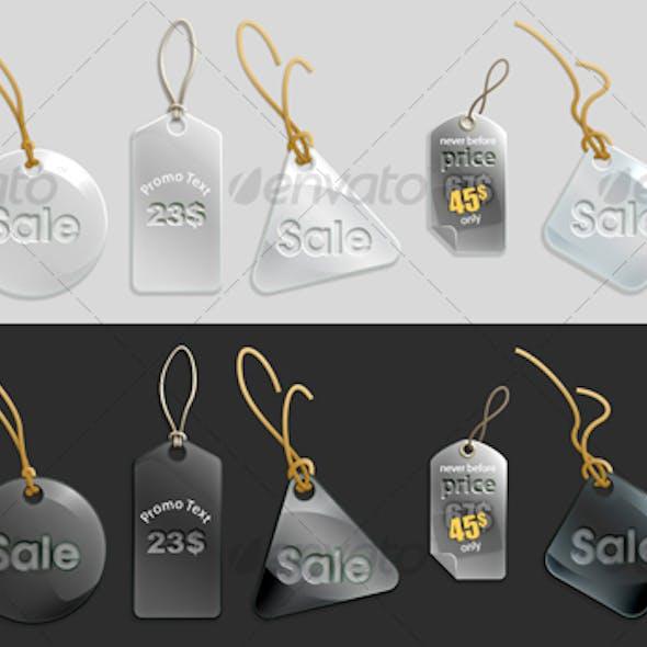 glassy tags