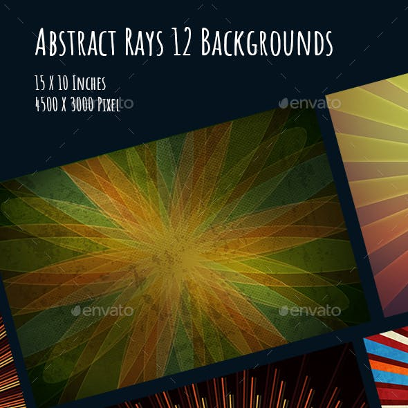 Abstract Rays 12 Backgrounds