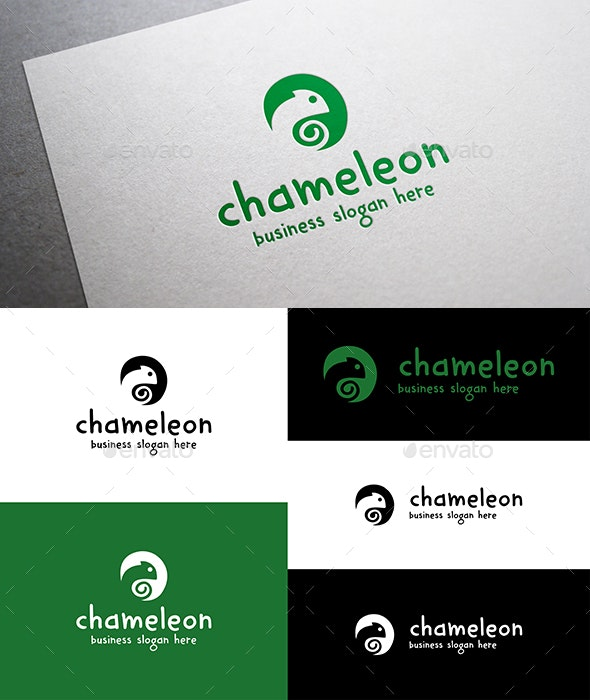 Chameleon Logo - Animals Logo Templates