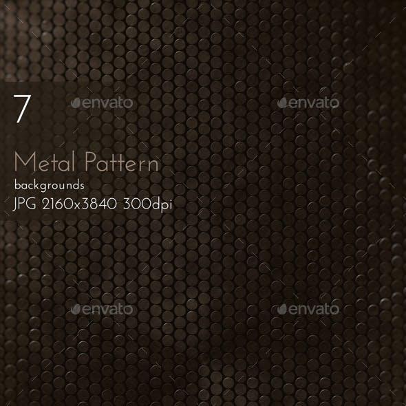 Metal Circles Pattern