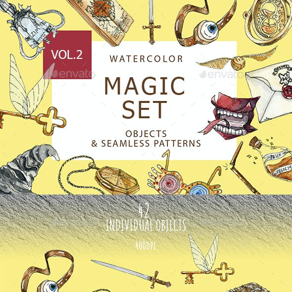 Watercolor Magic Set 2
