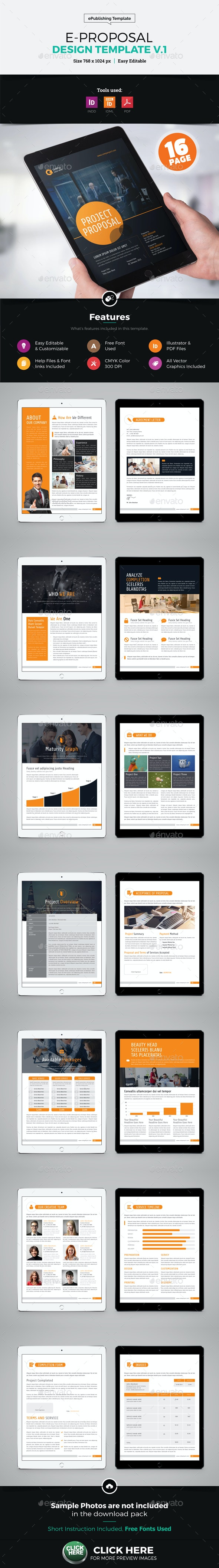 E-Proposal Design - Digital Books ePublishing