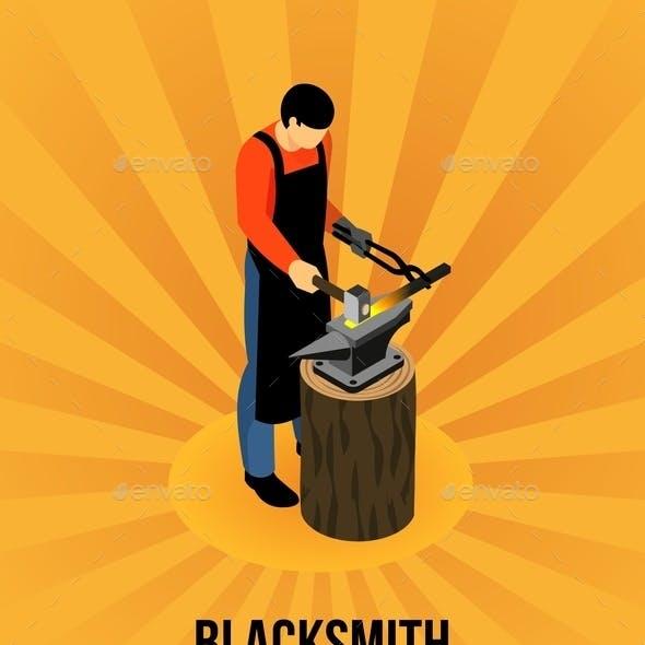 Blacksmith Isometric Concept