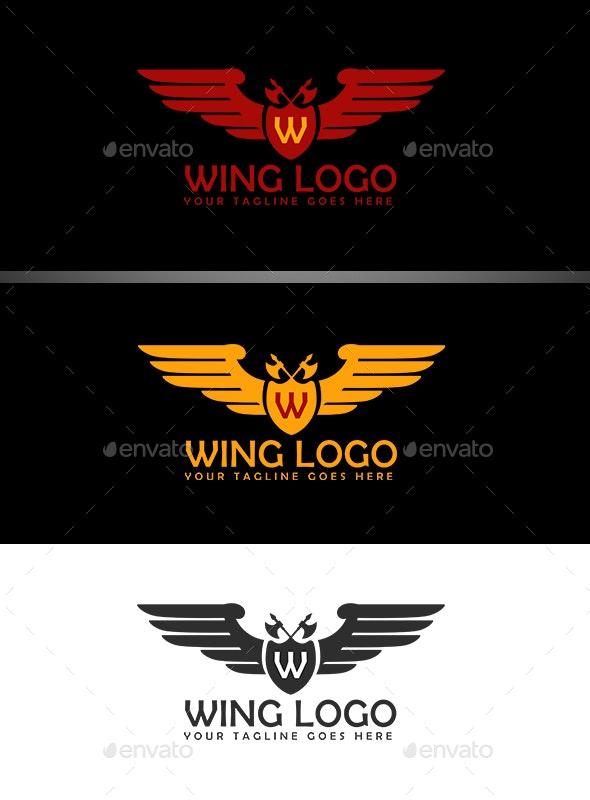 Wing Logo - Logo Templates