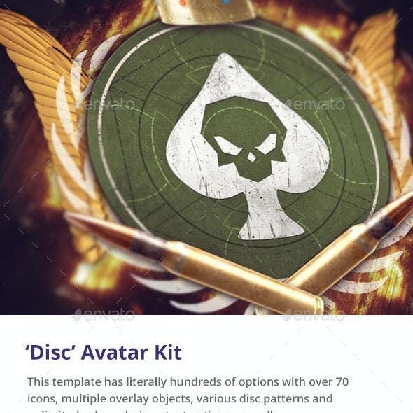 'Disc' Gaming Avatar Kit