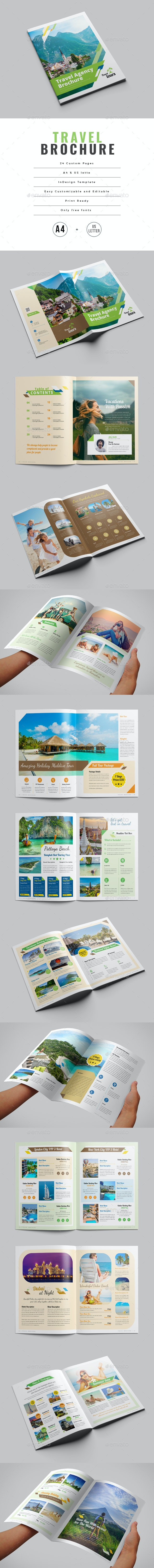 Travel Brochure - Brochures Print Templates
