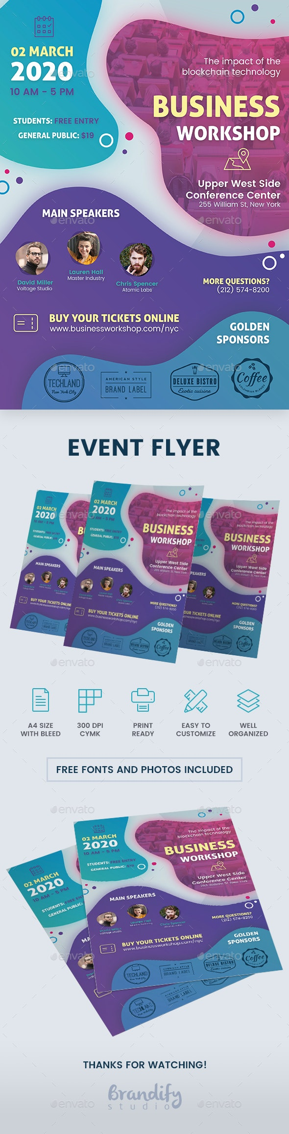 Event Conference Flyer - Events Flyers