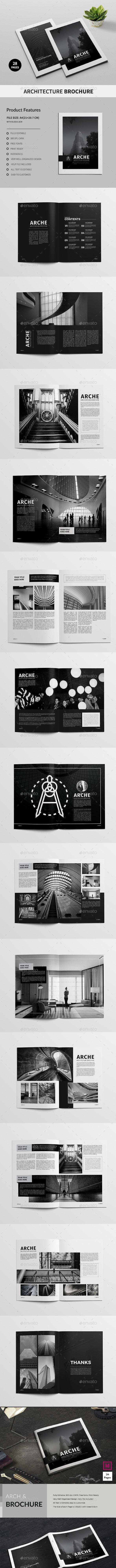 Architecture Brochures Bundle - Corporate Brochures
