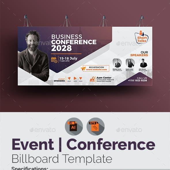 Conference Billboard Template