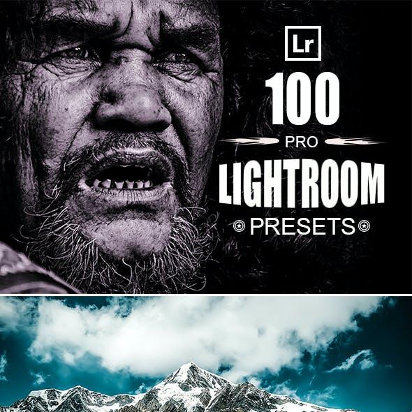 100 Pro Lightroom Presets Bundle