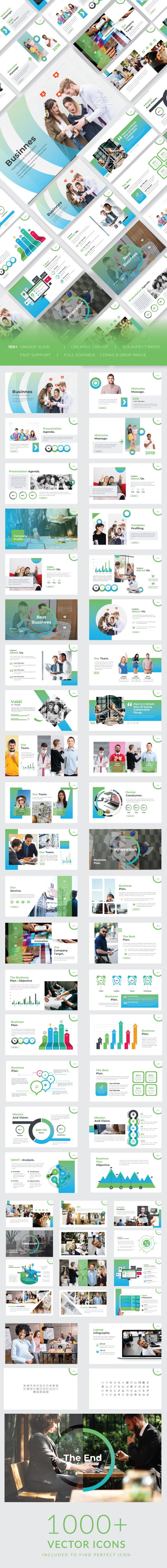 Multipurpose Business Template - Business PowerPoint Templates