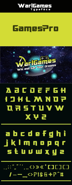 WarlGames - Condensed Serif
