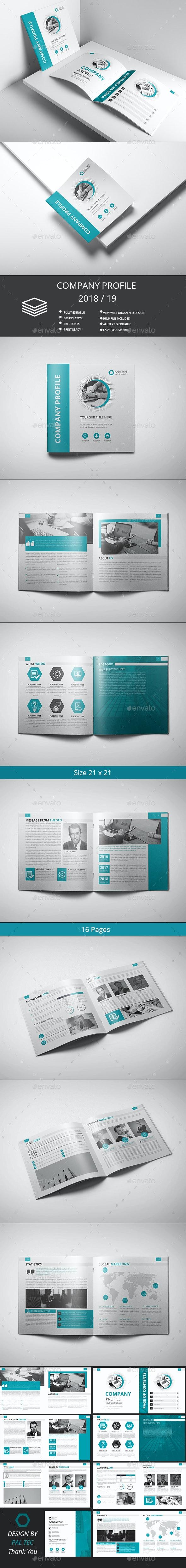 Company Profile - Brochures Print Templates