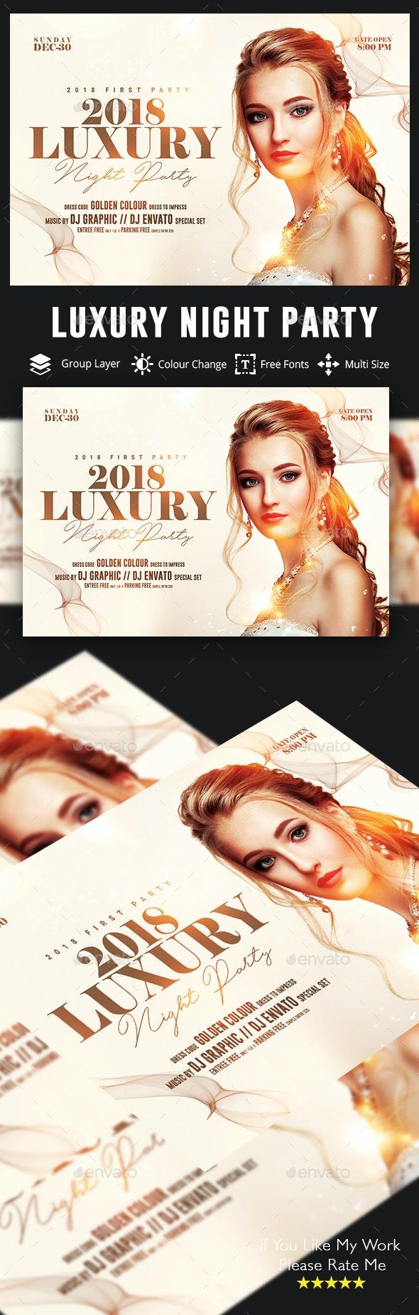 Luxury Flyer - Events Flyers