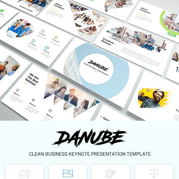 Danube - Clean Business Keynote Presentation Template