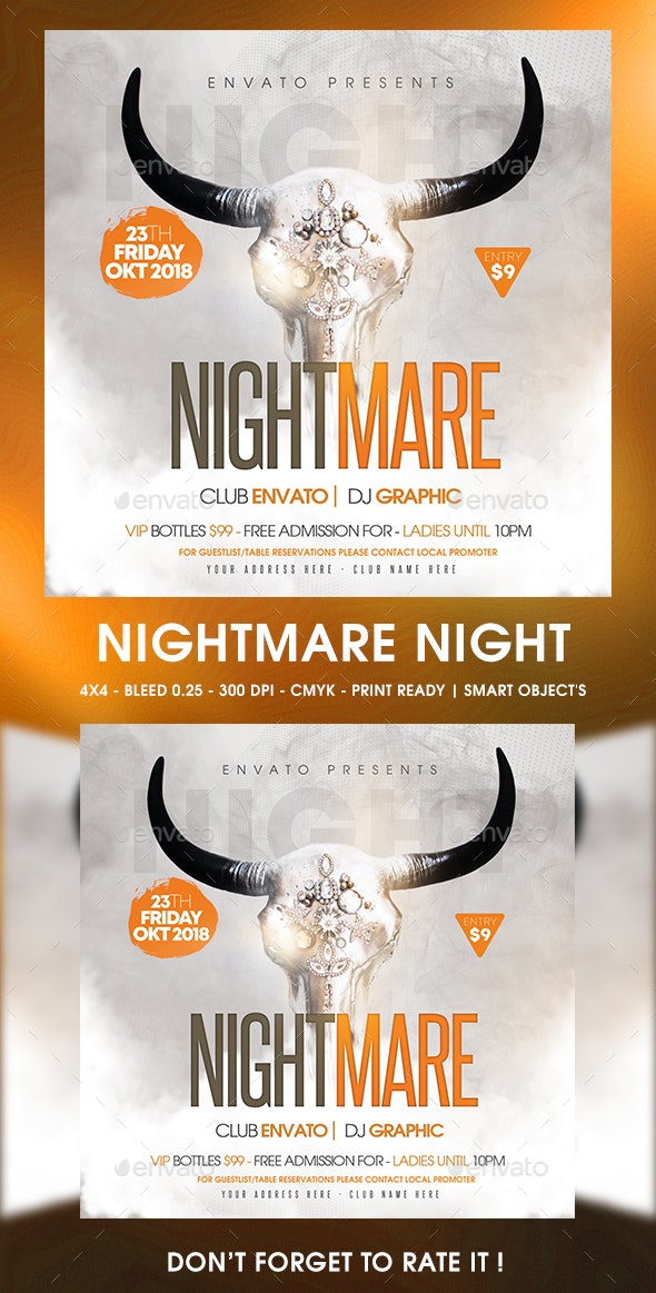 Nightmare Night - Clubs & Parties Events