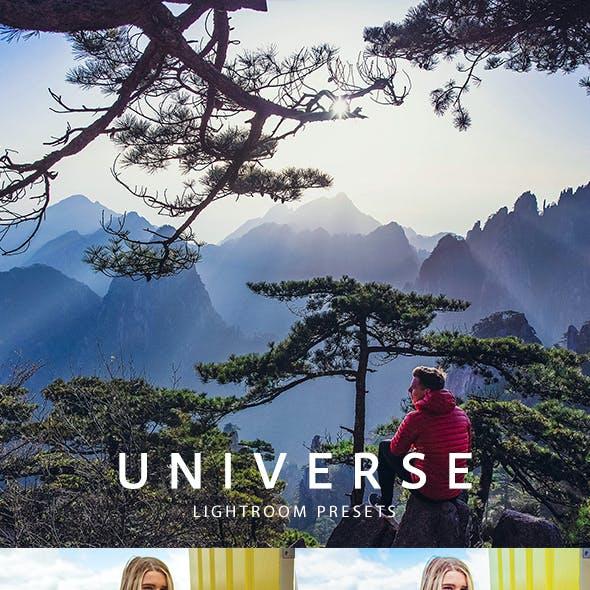 Universe Lightroom presets