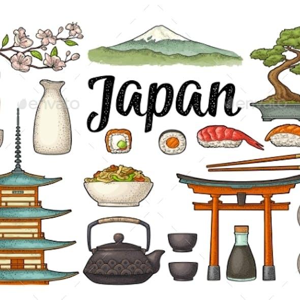 Set for Japan