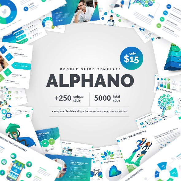 Alphano Google Slide Template