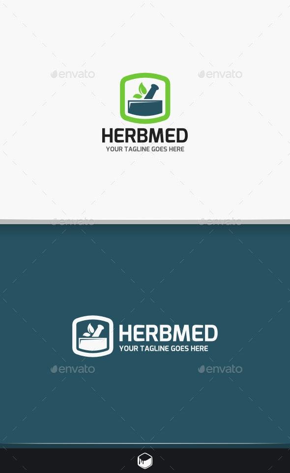 Herb Med Logo - Nature Logo Templates