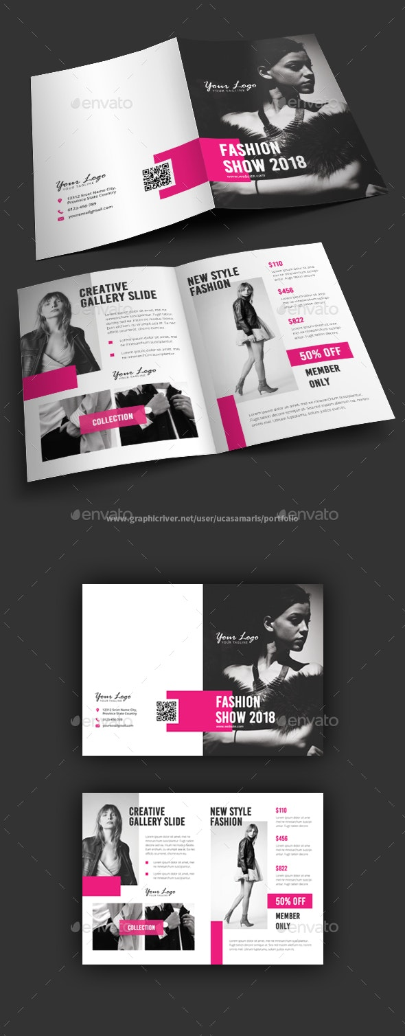 Fashion Bifold Brochure - Brochures Print Templates