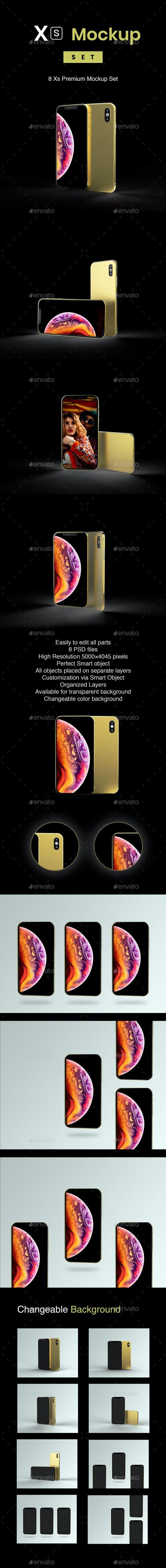 Phone XS Mockup - Mobile Displays