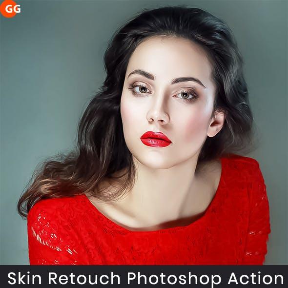 30 Skin Retouching Photoshop Action