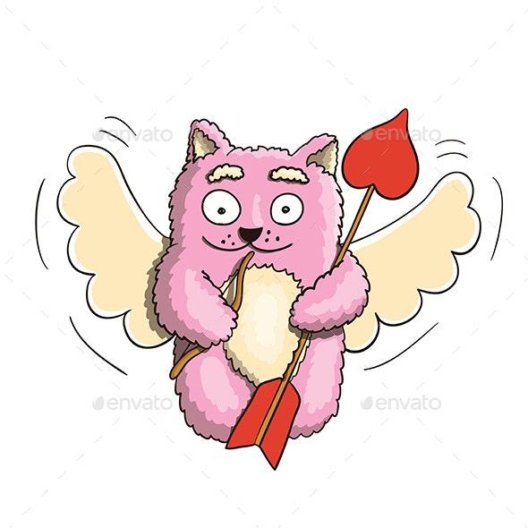 Valentines Day Cupid - Valentines Seasons/Holidays