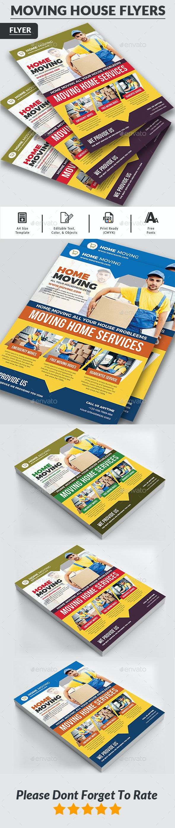 Moving House Flyer - Commerce Flyers