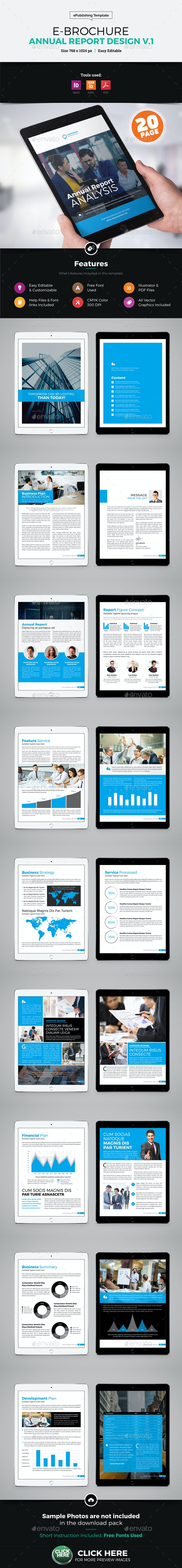 E-Brochure Annual Report Design - Digital Books ePublishing