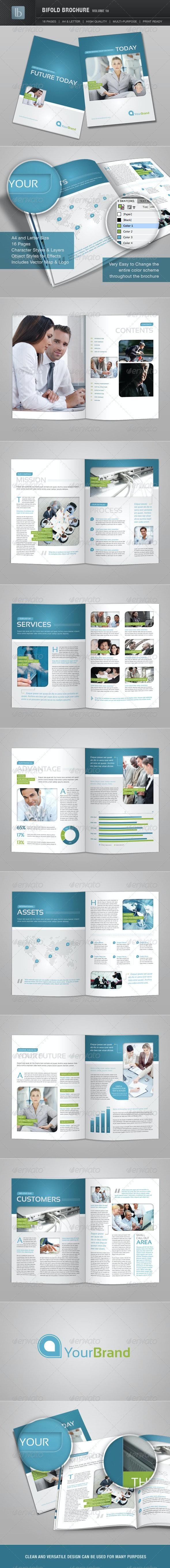 Bifold Brochure   Volume 10 - Corporate Brochures