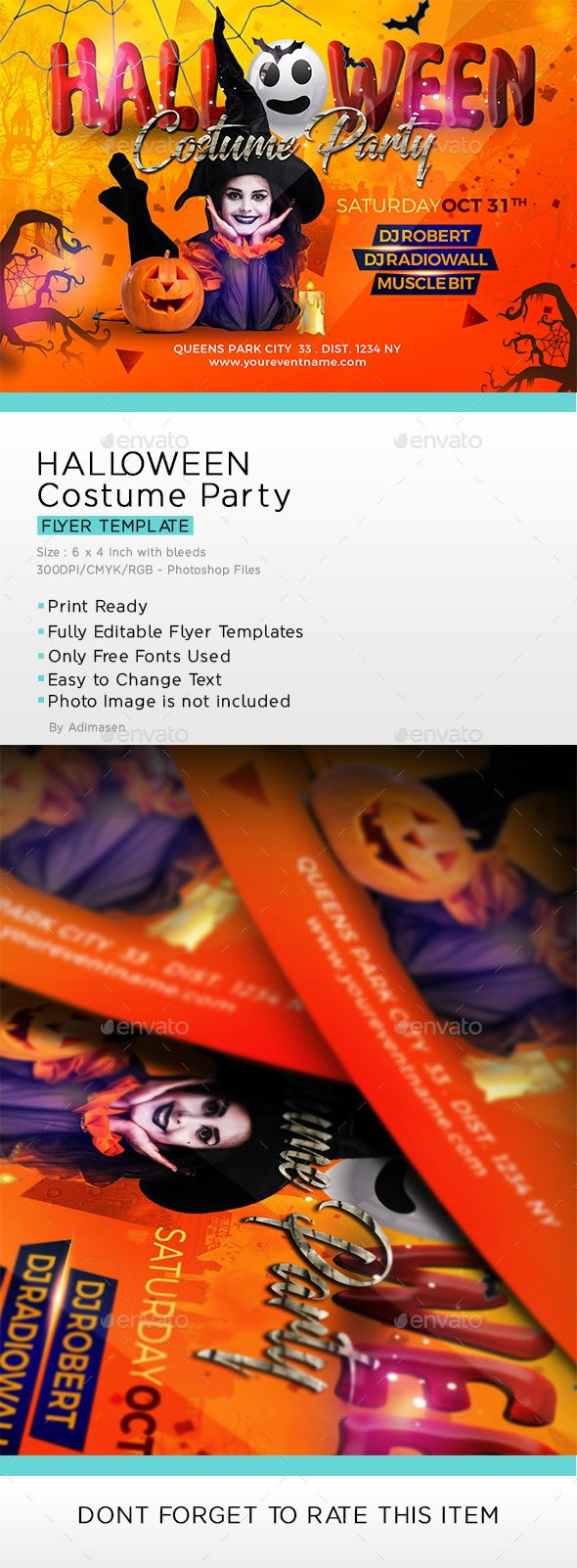 Halloween Costume Party Flyer - Clubs & Parties Events