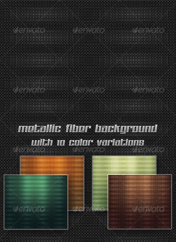 MetalliC Fiber Background (10 colors) - Patterns Backgrounds