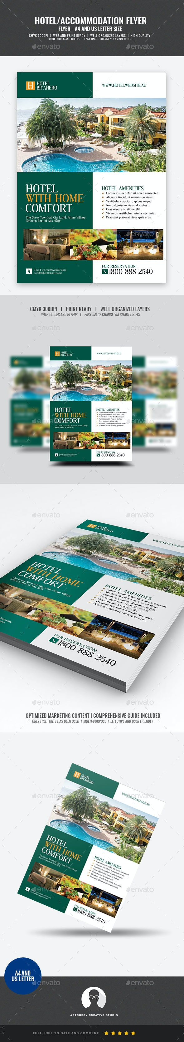 Hotel Promotional Flyer - Corporate Flyers