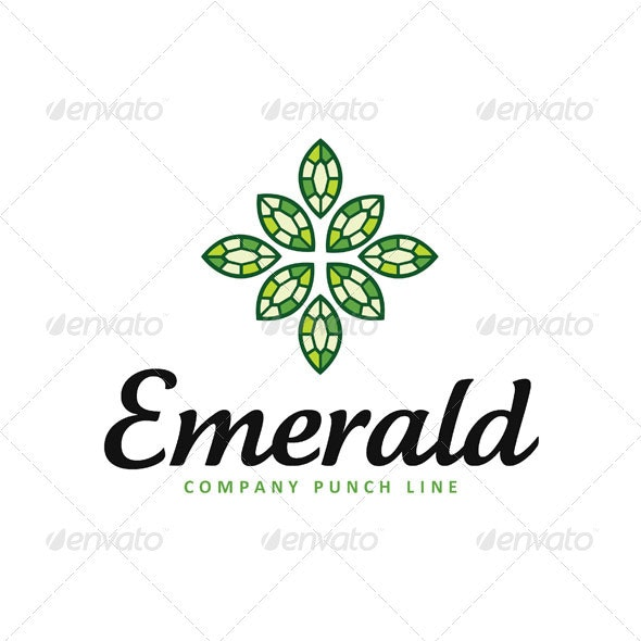 Emerald Logo - Objects Logo Templates