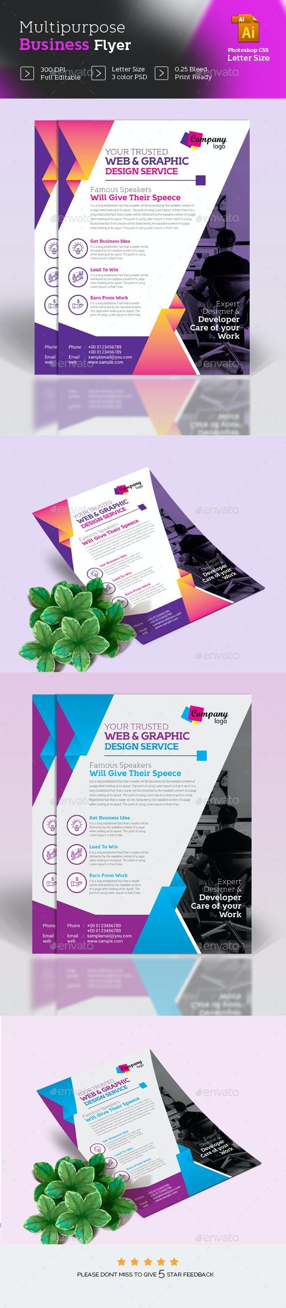 Digital Agency Flyer - Corporate Flyers