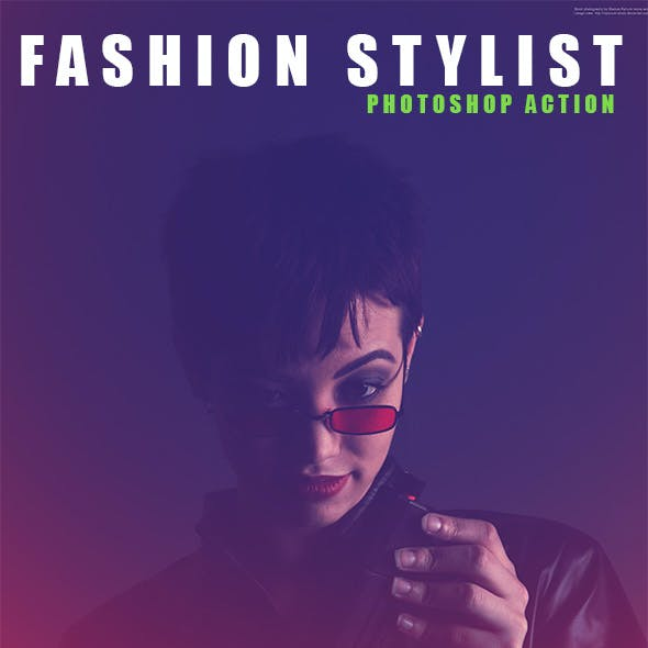 Fashion Stylist - Photoshop Action