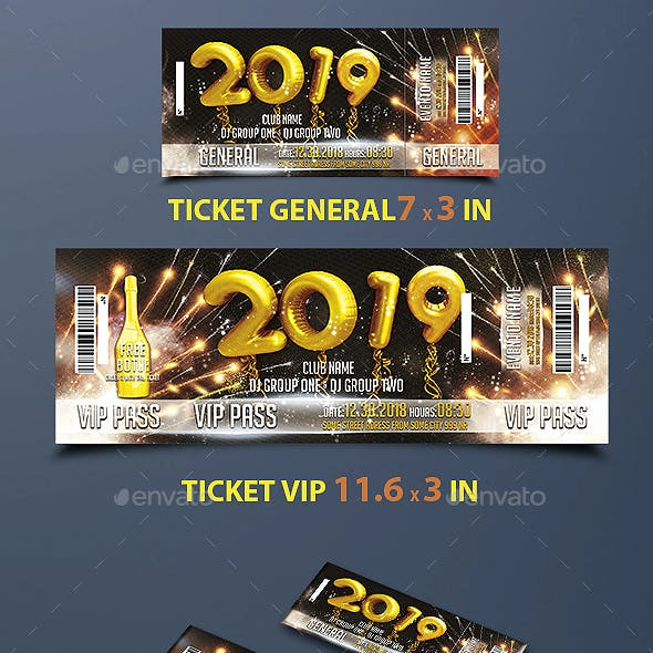 Ticket Happy New Year