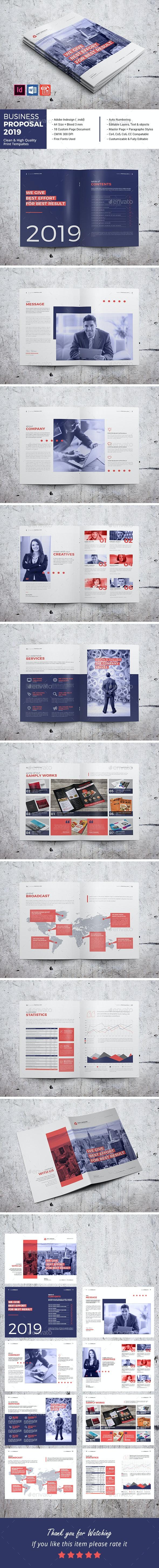 Business Proposal 2019 - Corporate Brochures