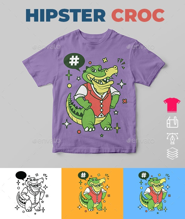 Hipster Croc