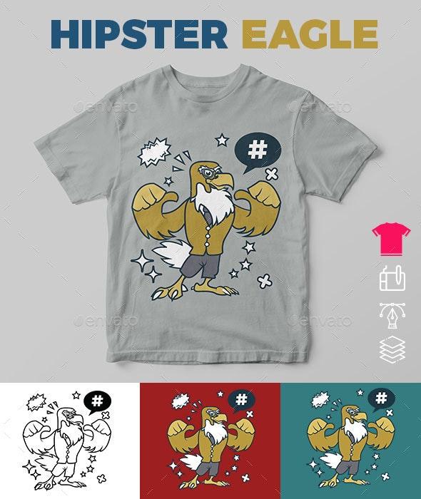 Hipster Eagle