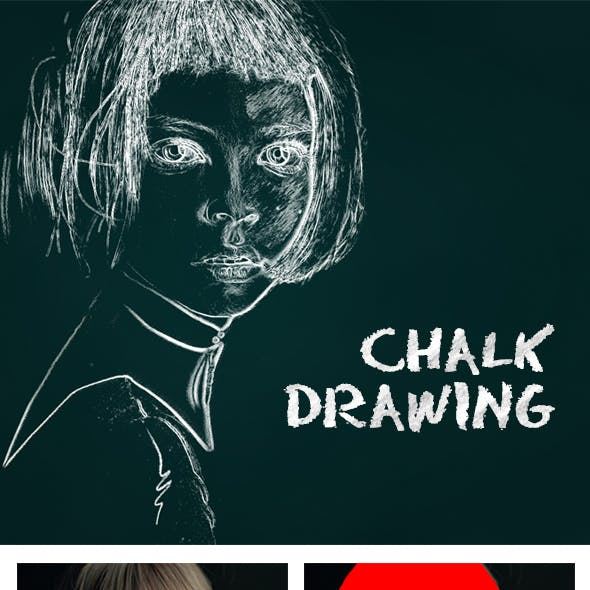 Chalk Drawing PS Action