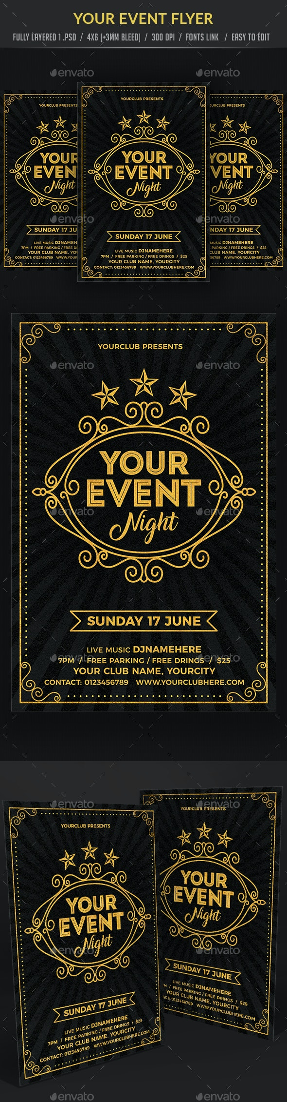 Your Event Flyer - Events Flyers