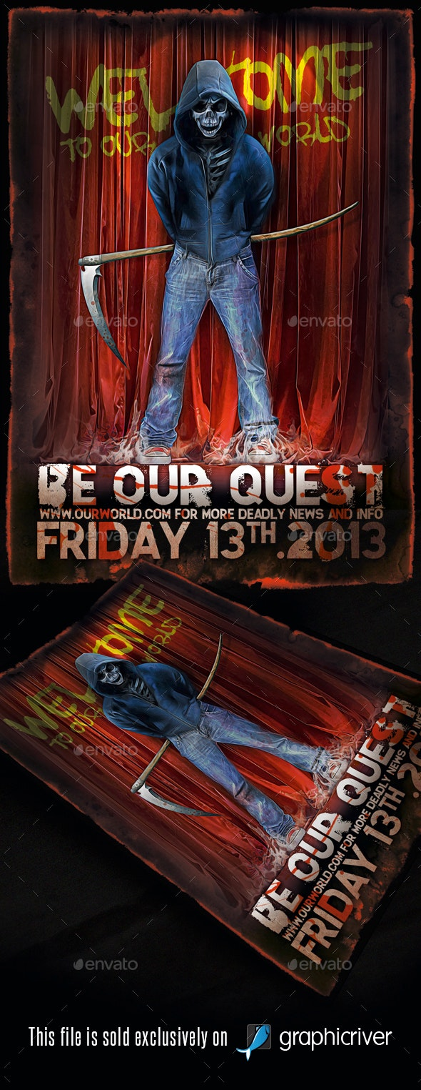 Heavy Metal Flyer/Poster Vol.5 - Events Flyers