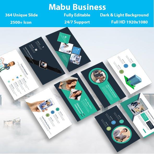 Mabu Business PowerPoint Template