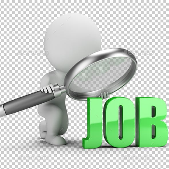 3D Small People - Job Search