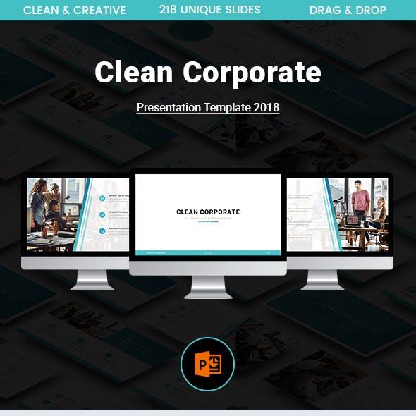 Clean Corporate Presentation Template