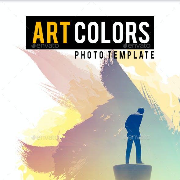 Art Colors Photo Template