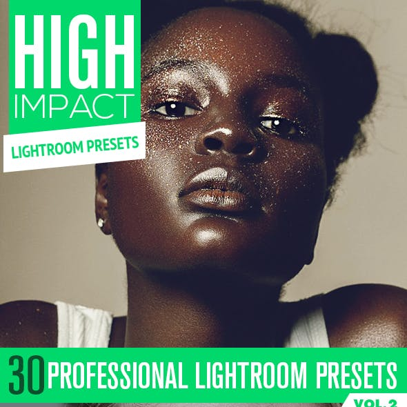 30 High Impact Lightroom Presets Vol.2